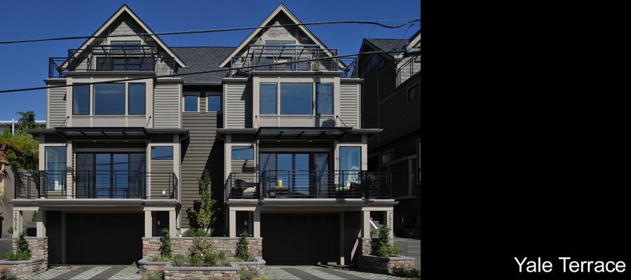 Yale terrace townhomes seattle wa david vandervort for Terrace house full episodes